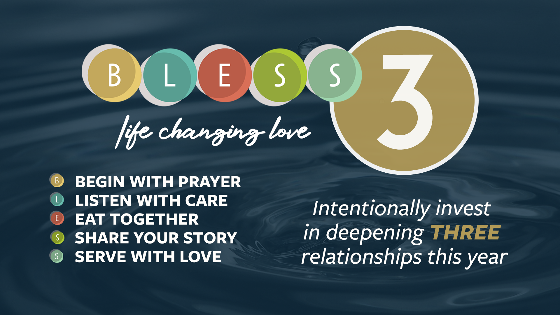 BLESS 3: Life-changing Love