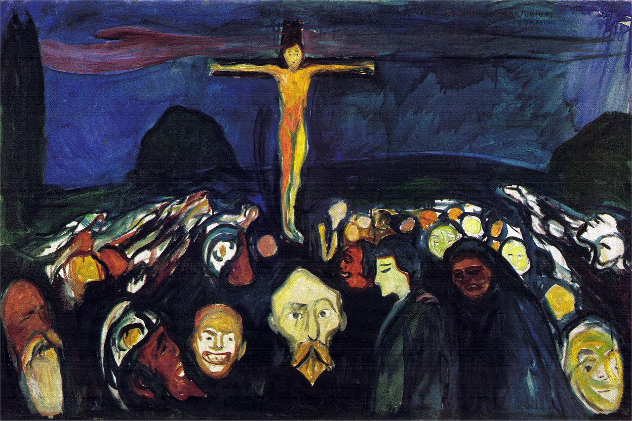 Golgotha - Edvard Munch 1900